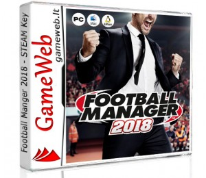 Football Manager 2018 EU - STEAM CDkey