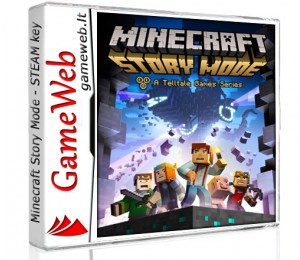 Minecraft Story Mode - A Telltale Games Series - STEAM CDkey