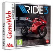 RIDE 3 - STEAM Key