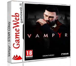 Vampyr - STEAM CDkey