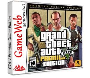 Grand Theft Auto (GTA) 5 Premium Online Edition - Rockstar CDkey