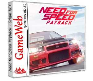Need for Speed Payback - Origin KEY