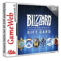 Blizzard battle.net 50 EUR papildymas