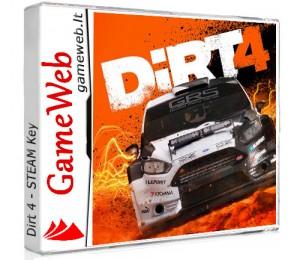 Dirt 4 - STEAM Key