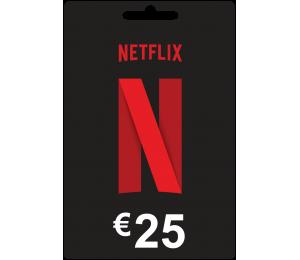 NETFLIX 25€ paskyros papildymas