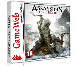 Assassin's Creed III - Uplay CDkey