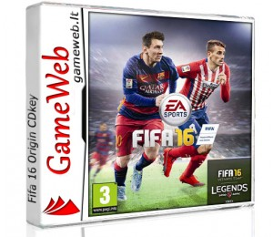 Fifa 16 EU - Origin / Xbox One CDkey