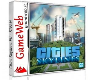 Cities Skylines EU - STEAM CDkey
