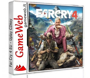 Far Cry 4 EU - Uplay CDkey