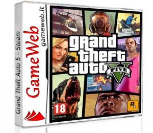Grand Theft Auto (GTA) 5 - STEAM CDkey