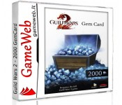 Guild Wars 2 - 2000 Gem Card