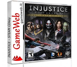 Injustice - Gods Among Us (Ultimate Edition) - STEAM CDkey