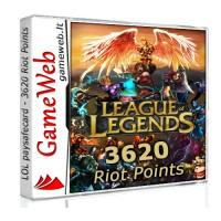 League of Legends papildymas - 3250 Riot Points