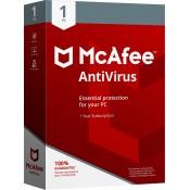 McAfee Antivirus - 1PC - 365 dienų licencija