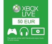 Xbox Live - 50 euro papildymas