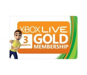 Xbox Live Gold 90 dienų