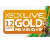 Xbox Live Gold 12 mėnesių